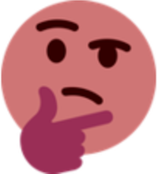 Thinking meme face png. Download emoji know your
