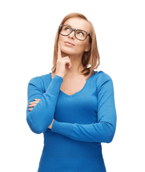 Thinking woman png. Free images toppng transparent