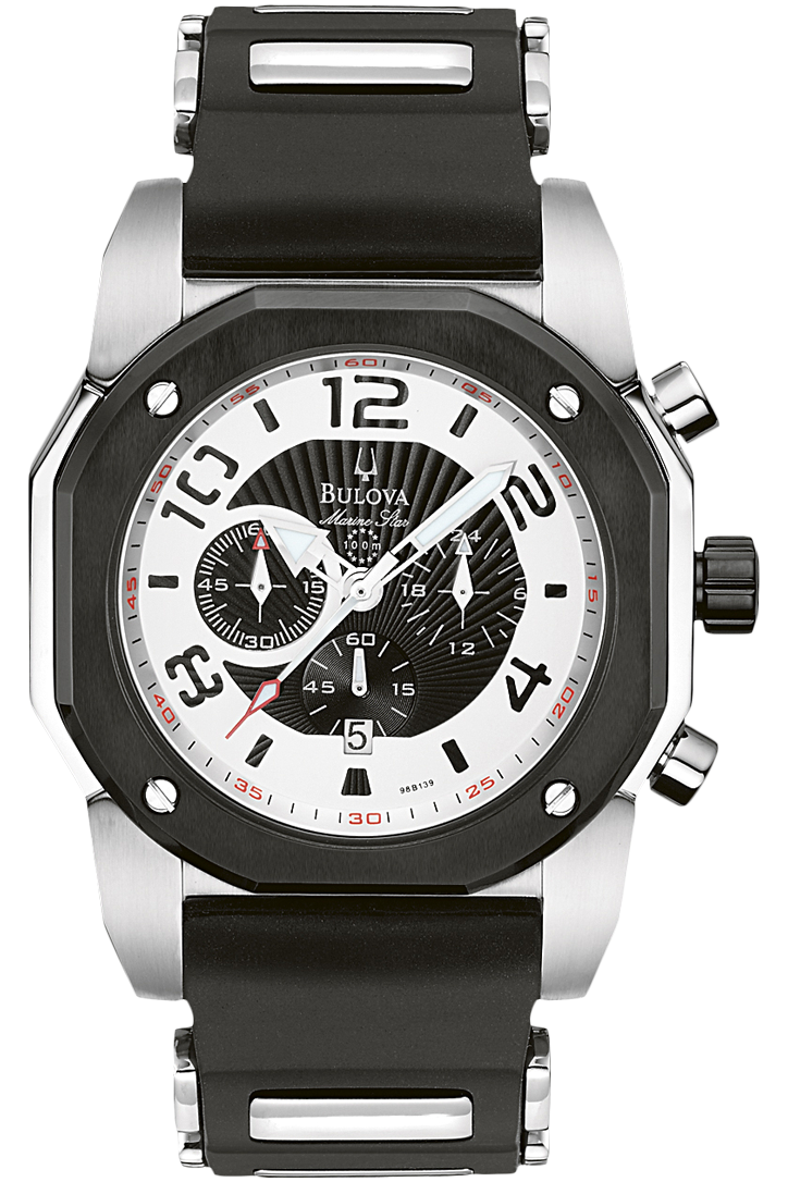 This is my favorite thing to watch.. Bulova sport sporty watch