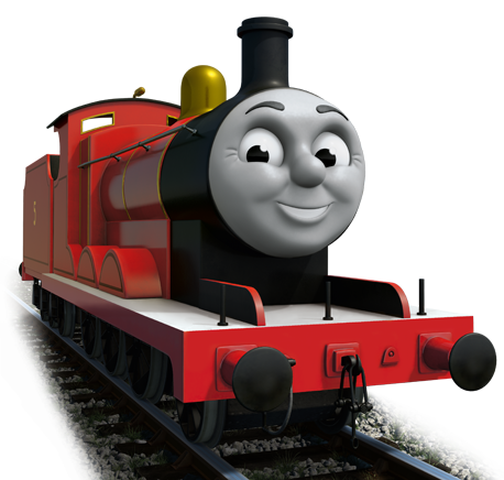 Thomas and friends png. Image cgi james series