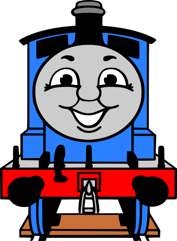Thomas clipart rail engine. Crafting with meek the