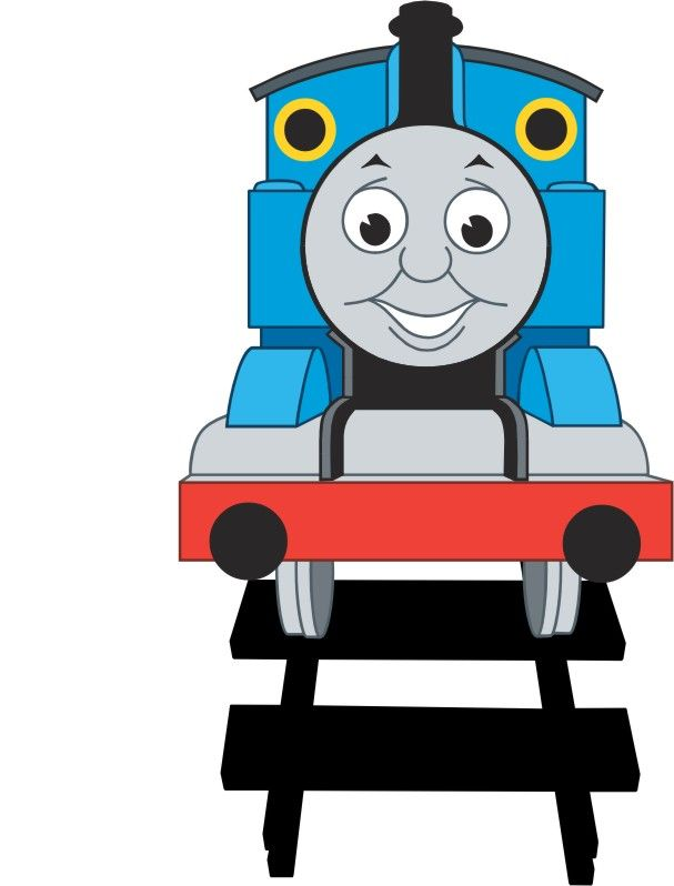 Thomas clipart template. Paper piecing carnival invitations