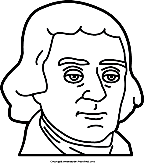Thomas drawing cartoon. Collection of jefferson