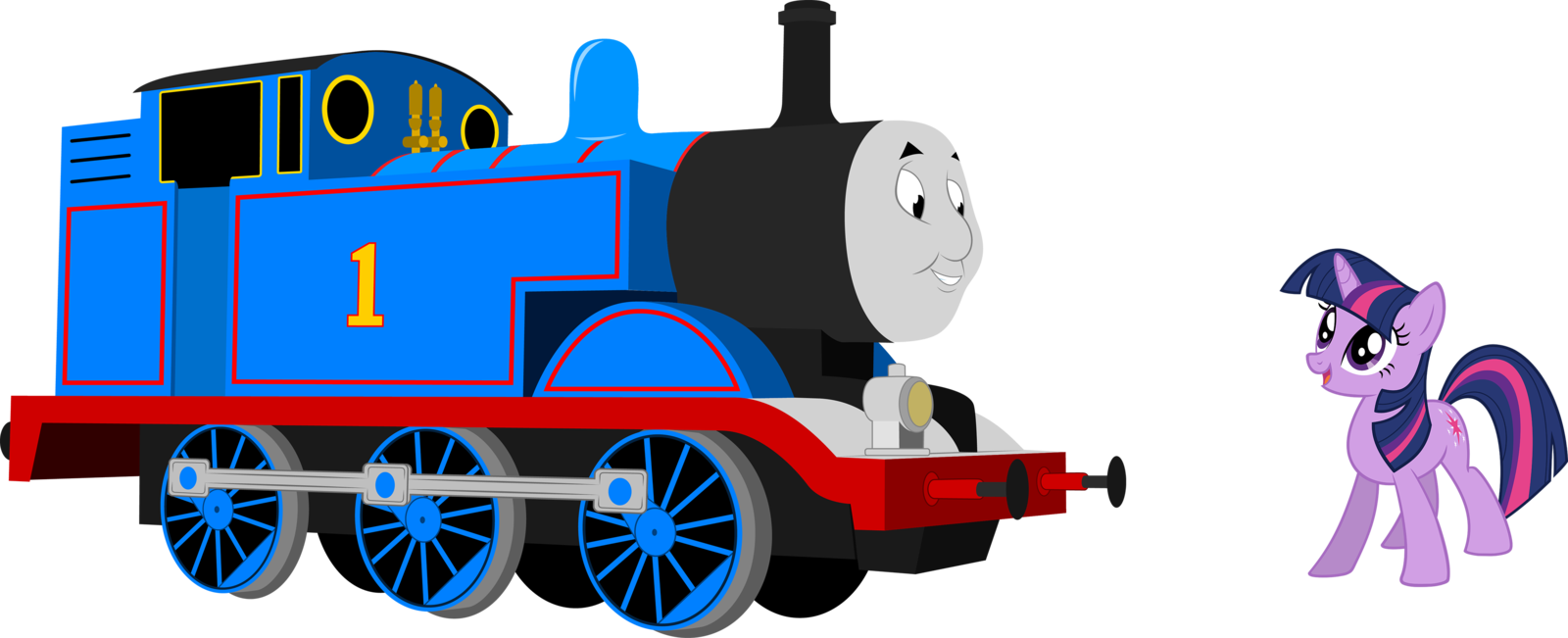 Thomas drawing toy train. The and friends clipart