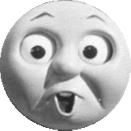 Thomas the tank engine face png. Image