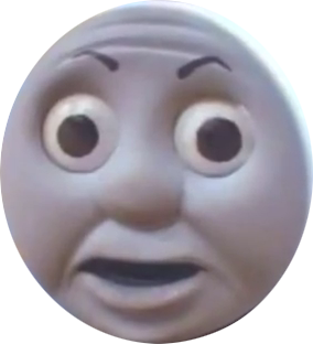 Thomas the tank engine face png. Shopping general facepunch forum