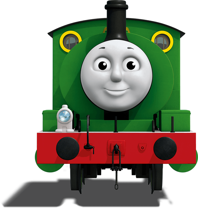 transparent tank percy the small engine