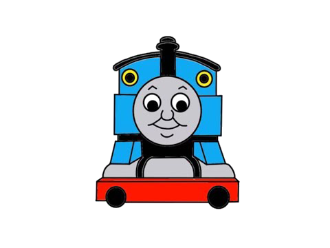 Thomas the tank png. New here train svg