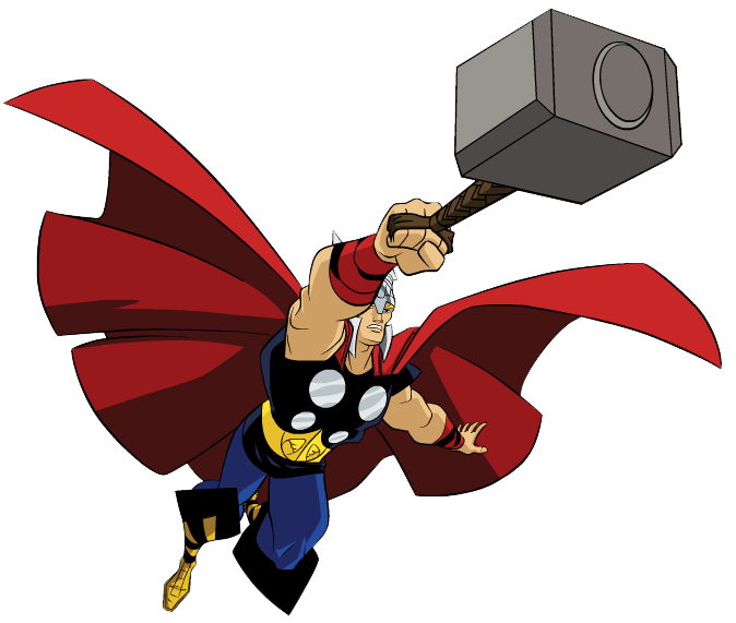 thor svg drawing