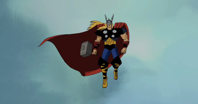 Thor clipart emh. Best episodes of avengers