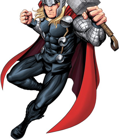 Drawing marvel thor. Avengers characters hq learn