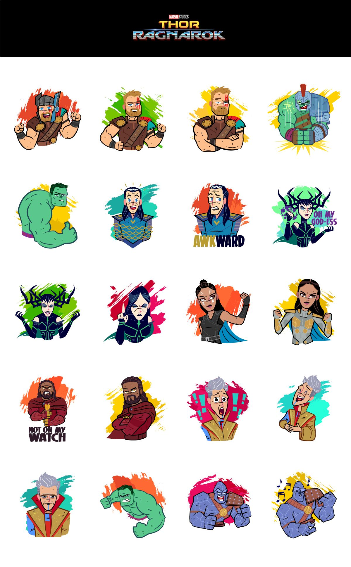 Thor clipart thor ragnarok. Dribbble salvatier full stickers