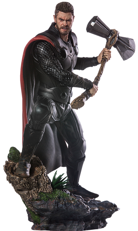 Thor infinity war png. Avengers th scale statue