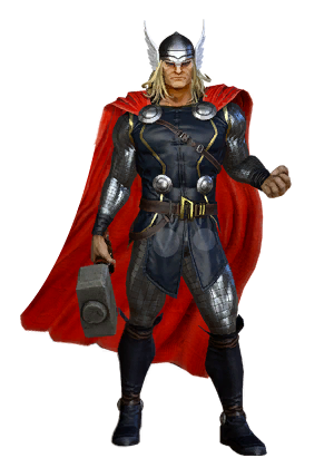 Thor marvel png. Character token heroes omega