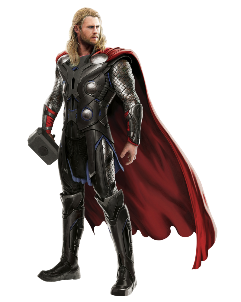 Thanos clipart cut out. Thor transparent by asthonx