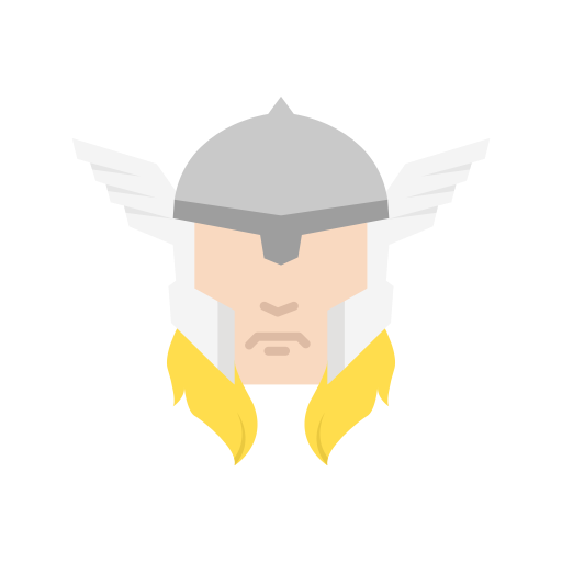 Hero suer wings icon. Thor svg animated graphic royalty free download