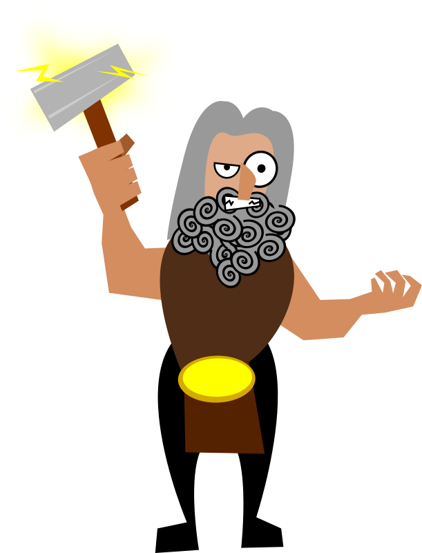 Thor svg animated. Clipart medium image png