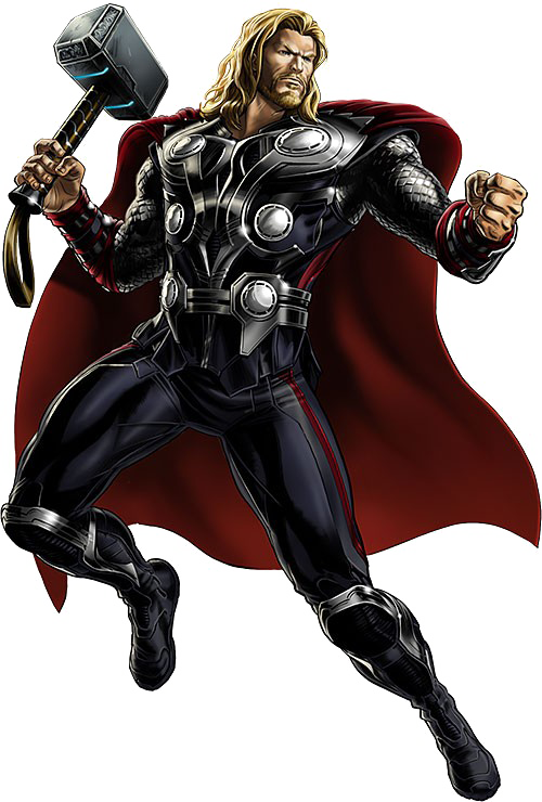 Thor transparent png. Image with background arts