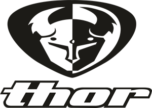 Thor vector black and white. Logo cdr free download