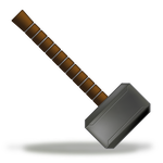 Icon by mediatiger on. Thor vector thor's hammer image free