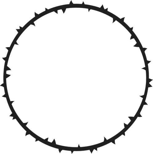 Thorn crown png. Silhouette at getdrawings com