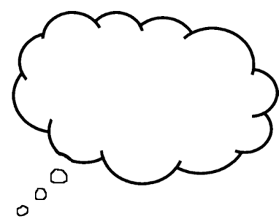 Thought bubble png. Download free transparent image