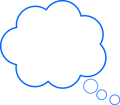Thought clipart. Download bubble free png