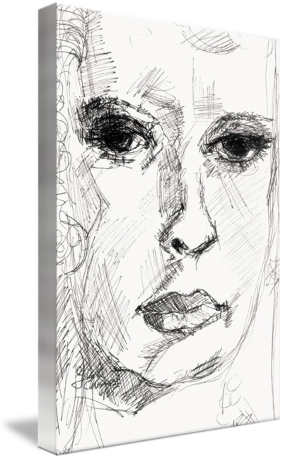 Thoughts drawing ink. Secret by ginette callaway