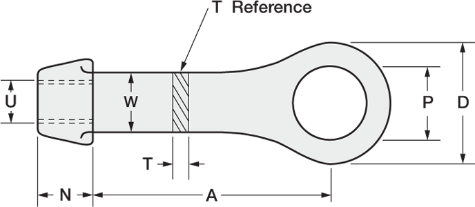 Rod drawing steel. Clevises and clevis pins