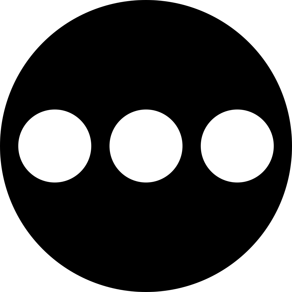 Three dots png. Svg icon free download