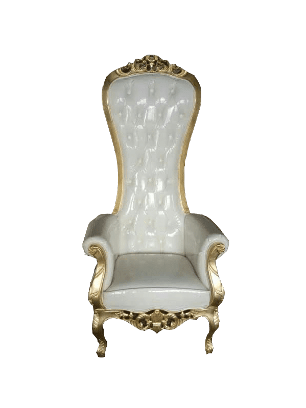 Throne chair png. Luxe event rental atlanta