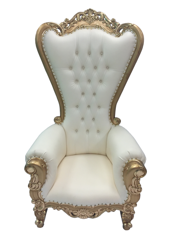 Throne chair png. Wedding event chairs crystal