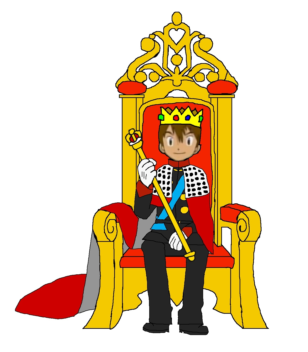 Throne clipart fancy chair. Chairs king on drawing