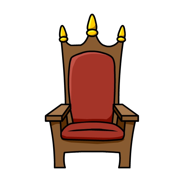 Throne clipart fancy chair. Queen pencil and in