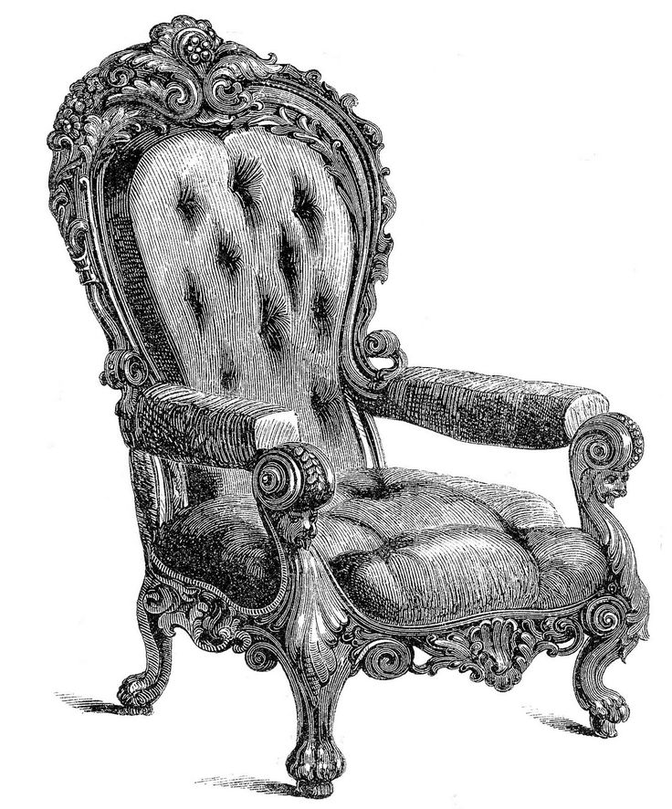 Throne clipart fancy chair. Best ornate chairs