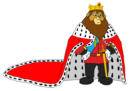 Throne clipart king cape. Lionheart royalty lkhff by