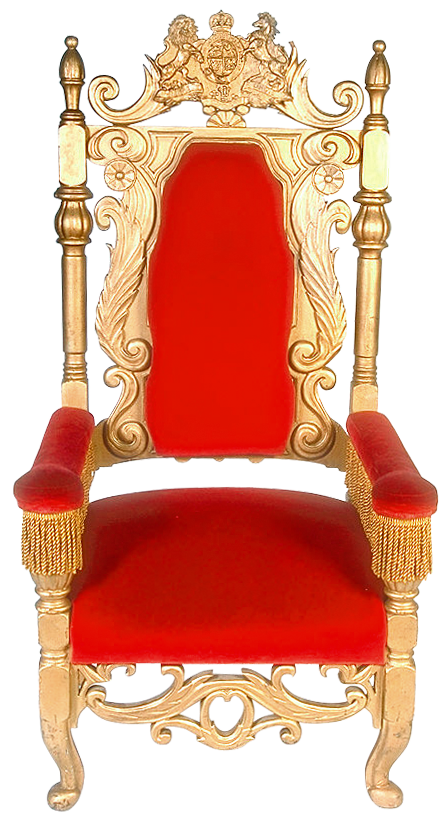 Throne png. Transparent red clipart gallery
