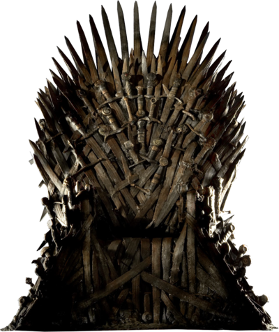 Throne png. Iron image