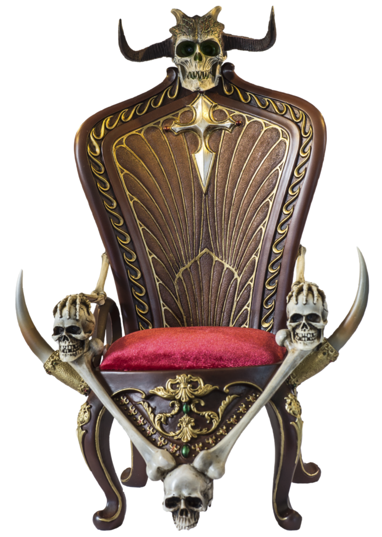 Throne png. Death cutout by juansixx