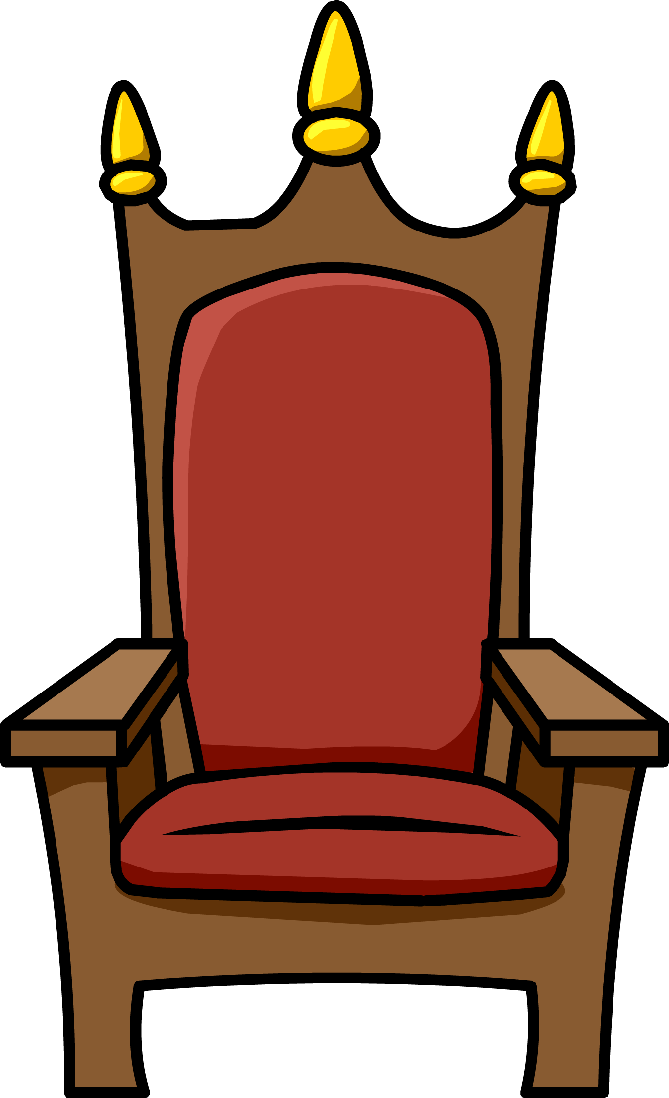 Throne png. Image royal club penguin