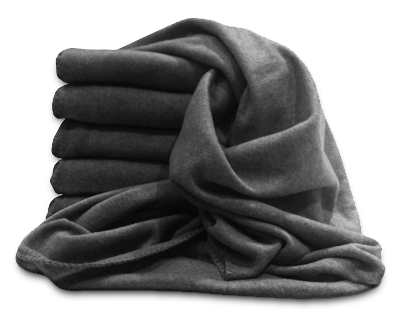 Transparent blanket fleece. Blankets and throws