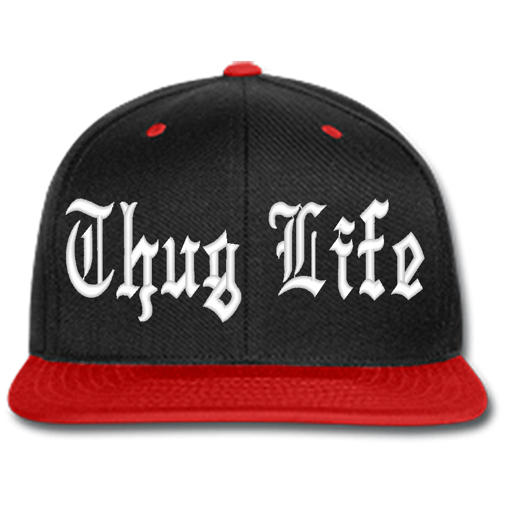 Thug transparent cap. Life black hat png