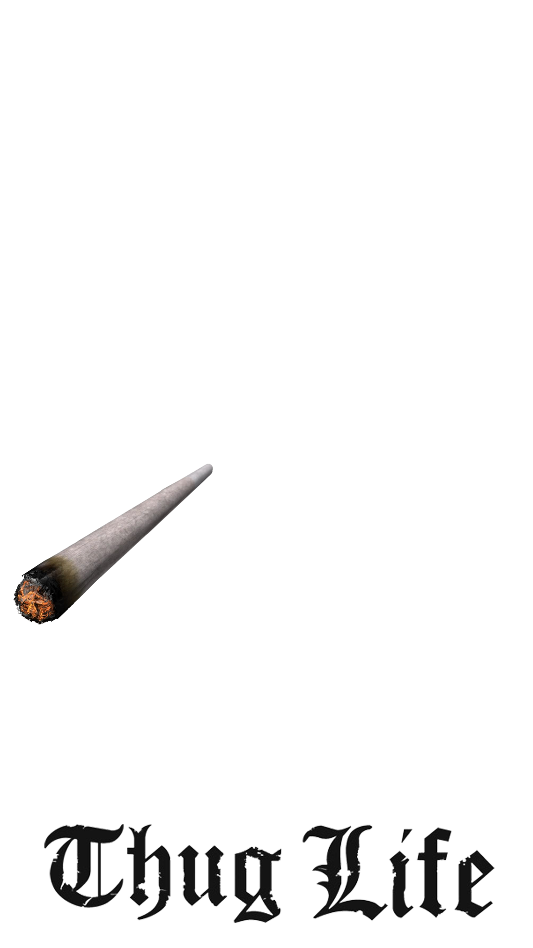 Thug life joint png. Pack created with many