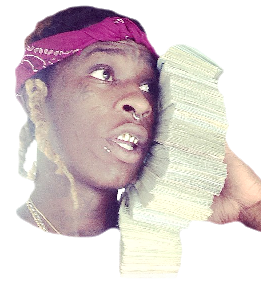 Thug transparent head. Done need a