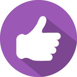 Thumb vector yes. Like icon myiconfinder