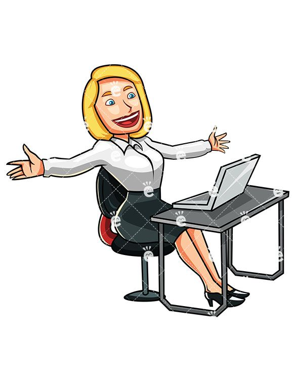 Thumbs clipart achieved. A woman who has