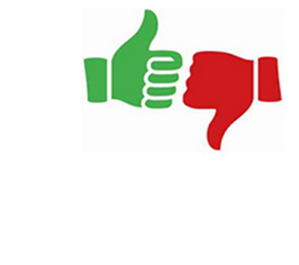 Thumbs clipart impact. Our opinion up down