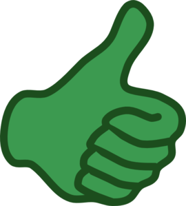 Thumbs clipart impact. Demonstrating value communicating social