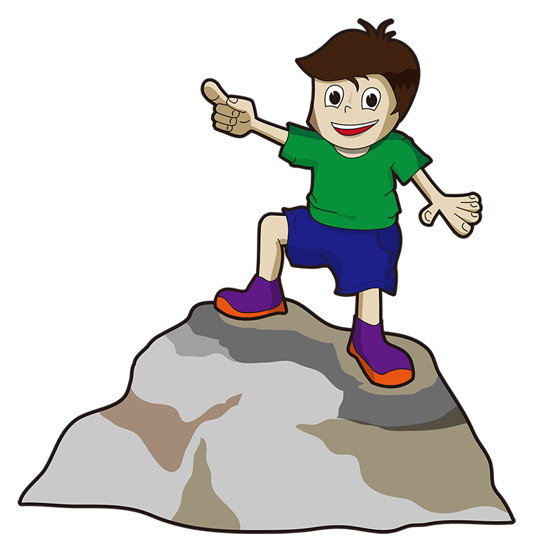 To self clipart cartoon. Free pointing up cliparts