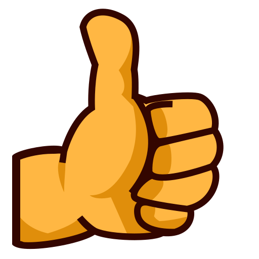 Thumbs up emoji png. Sign for facebook email